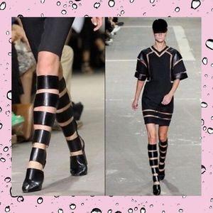 Alexander Wang Marta Tall Cutout Gladiator Boots 9